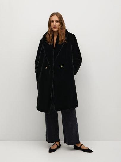 Длинное меховое пальто - Chilly