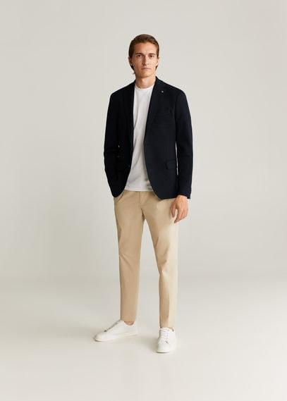 Фактурный приталенный пиджак - Punto