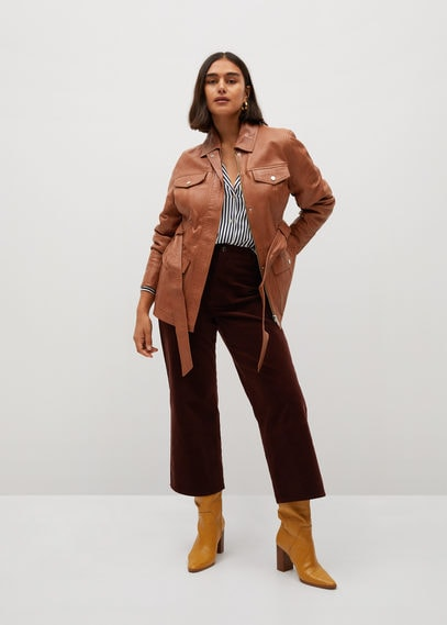 Куртка-сафари из кожи - Isabel7