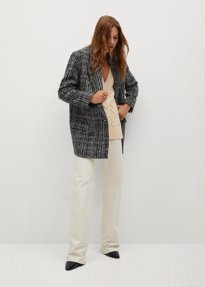 Пиджак из твида - Anna