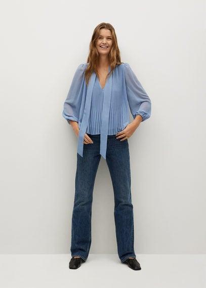 Плиссированная блузка - Lacito