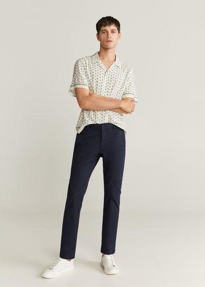 Рубашка regular fit с платочным принтом - Tala