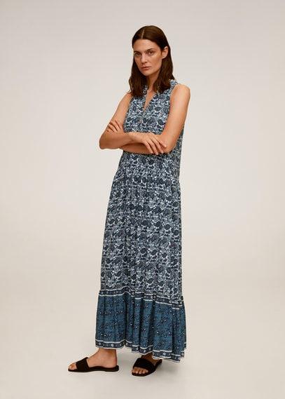 Длинное платье пейсли - Doha