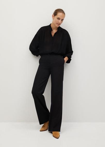 Полупрозрачная блузка в полоску - Yeva