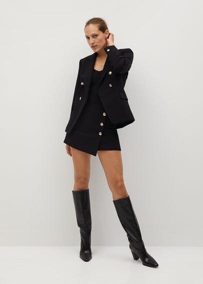 Двубортный пиджак с пуговицей - Regent