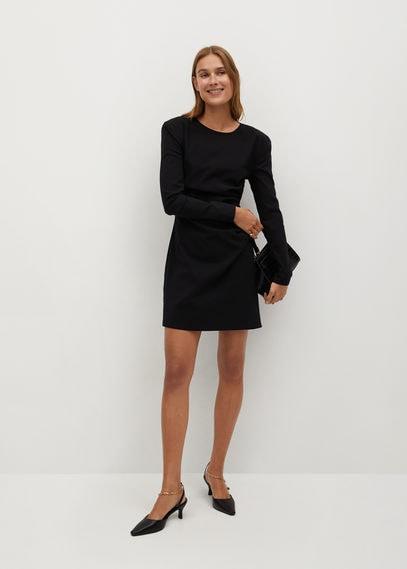 Платье с подплечниками - Vivi-i