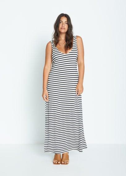 Длинное струящееся платье - Nuay