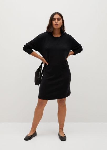 Платье-свитшот с капюшоном - Felpi7