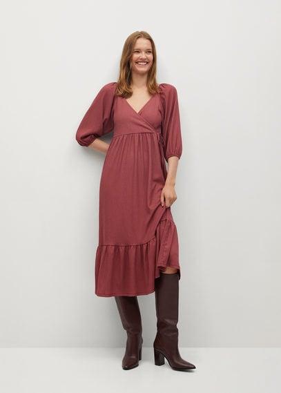 Платье с рукавами-фонариками - Chai