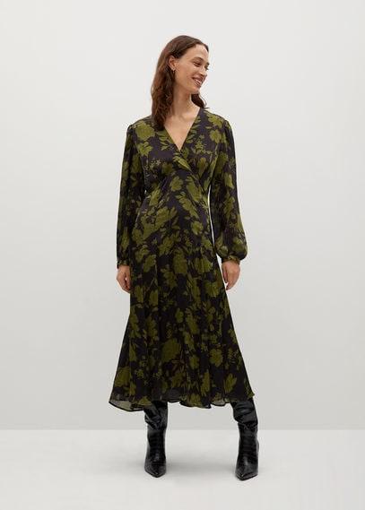 Платье с цветочным принтом - Bico