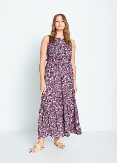 Платье с цветочным принтом - Bali