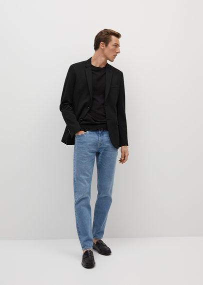 Пиджак super slim fit из технологичной ткани - Fabre