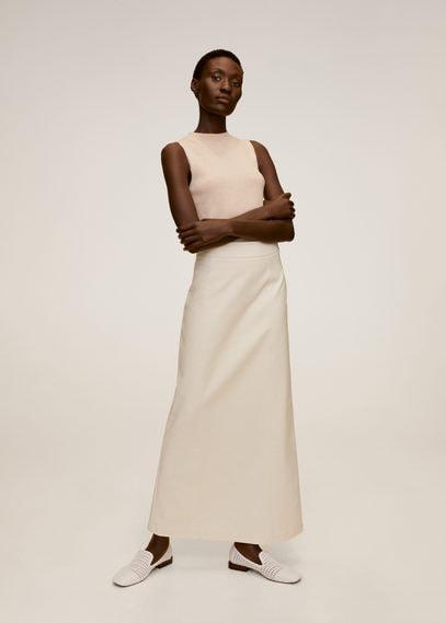 Длинная расклешенная юбка - Cofi7-a