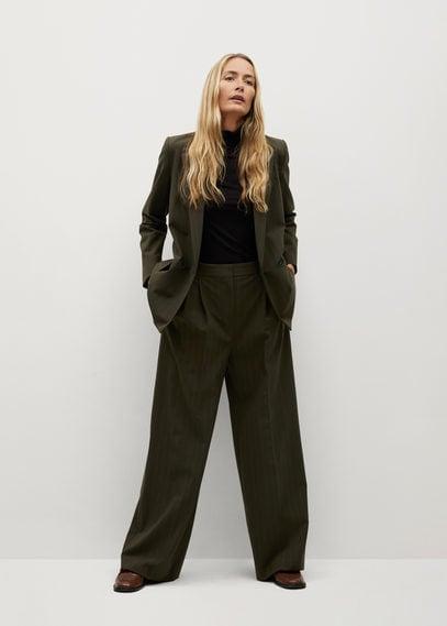 Костюмный пиджак в узкую полоску - Melchor2