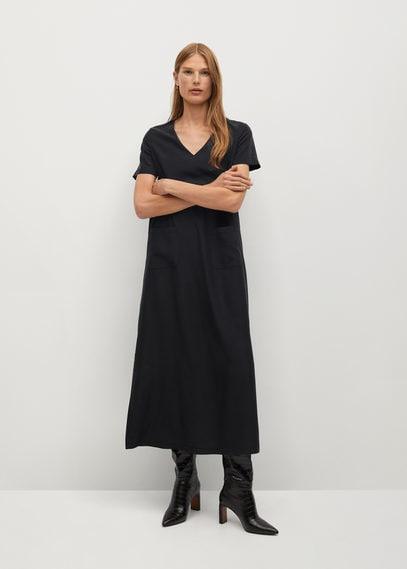 Струящееся платье из модала - Tenci-a
