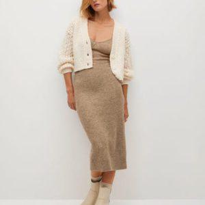 Миди-юбка из трикотажа - Taldora