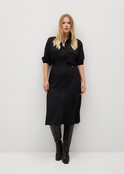 Миди-платье из модала - Sahara