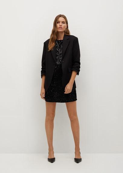 Короткое платье с пайетками - Pady-i