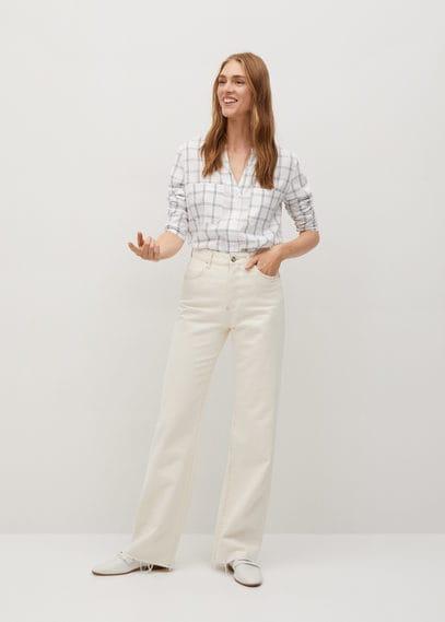 Струящаяся блузка с карманами - Galita