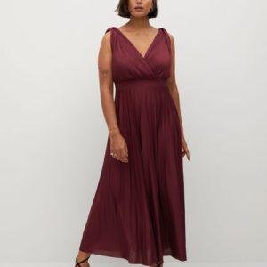 Миди-платье с плиссировкой - Opera