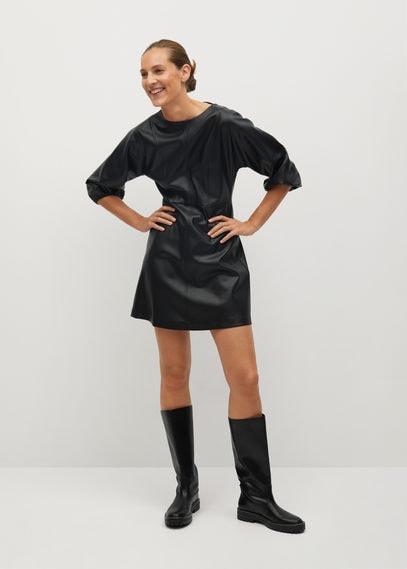 Платье из искусственной кожи - Drake