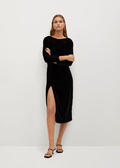 Бархатное платье - Velvy-i