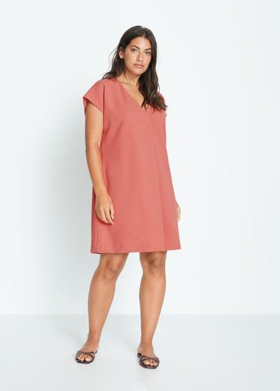 Короткое струящееся платье - Vivian
