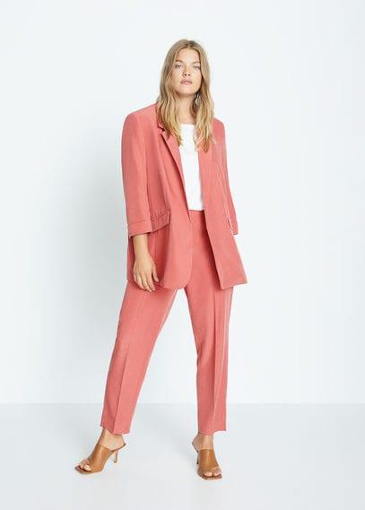 Костюмный пиджак из модала - Flew7