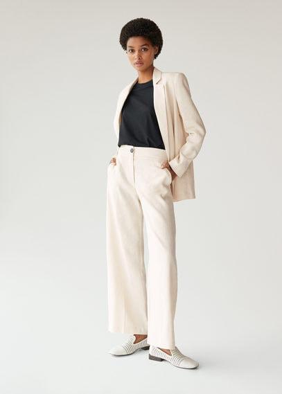 Костюмный пиджак изо льна - Vela-h