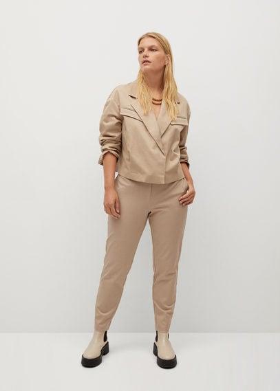 Укороченные брюки slim-fit - Jose7