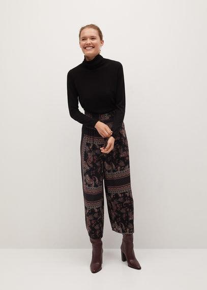 Струящиеся брюки с принтом - Arev