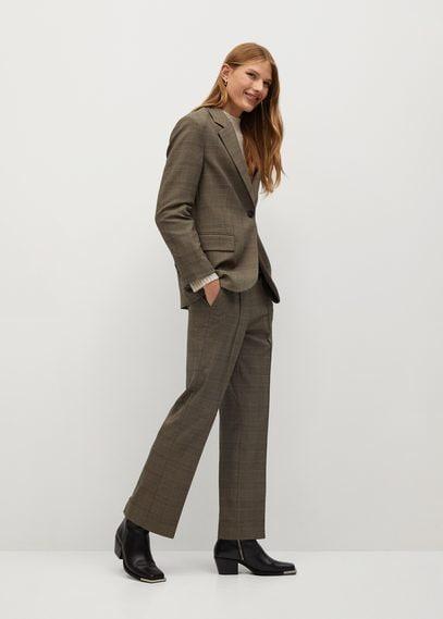 Структурированный костюмный пиджак - James