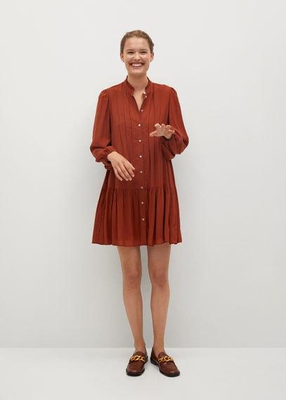 Отрезное ниже талии платье - Sofia