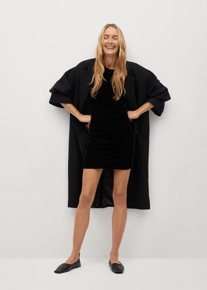 Короткое платье из бархата - Tove-i