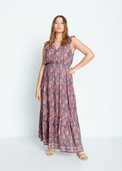 Длинное платье пейсли - Fantasy6