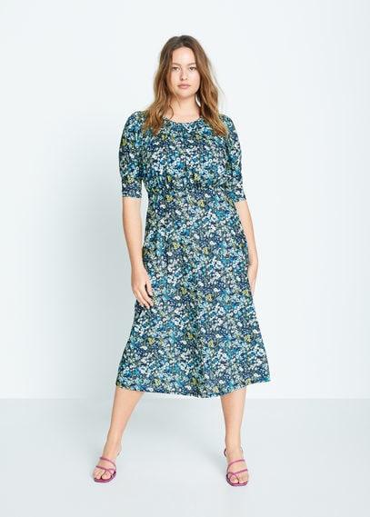 Миди-платье с цветочным принтом - Garden