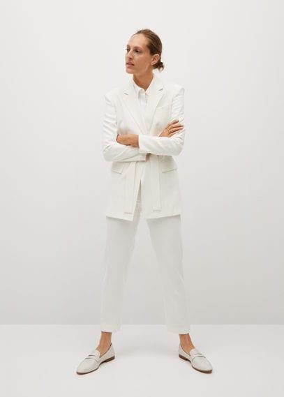 Укороченные костюмные брюки - Evais-x