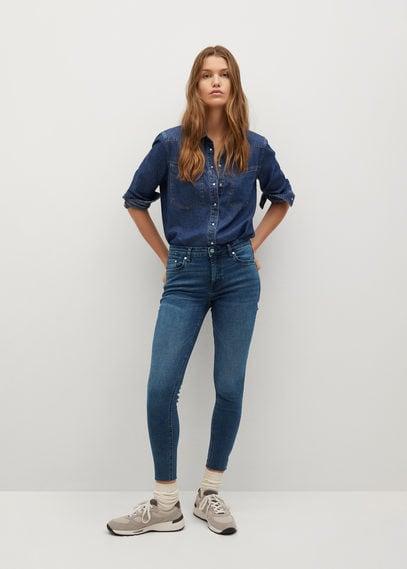 Укороченные джинсы скинни Isa - Isa