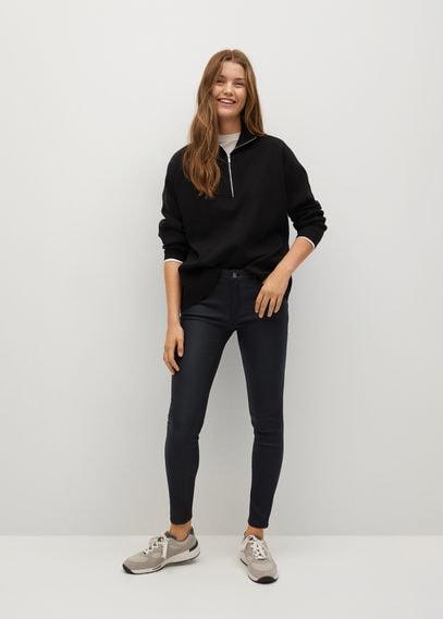 Вощеные джинсы-скинни пуш-ап Kim - Kim