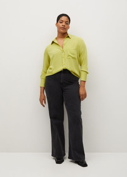 Рубашка с накладным карманом - Sedi8