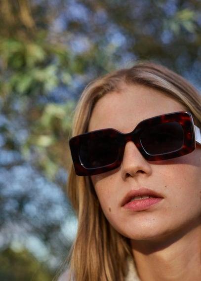 Солнцезащитные очки из ацетата под панцирь черепахи - Carmina