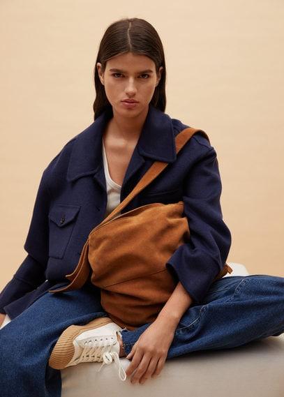 Кожаная сумка с плечевым ремнем - Prima