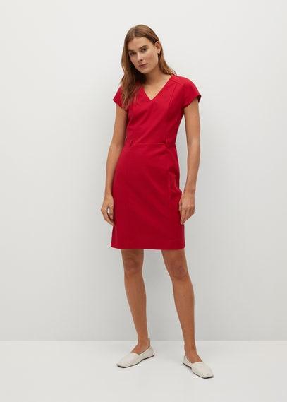 Короткое облегающее платье - Cofi7-n