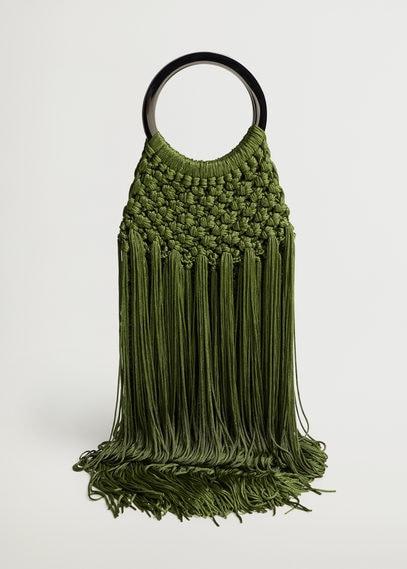 Плетеная сумка - Claudia