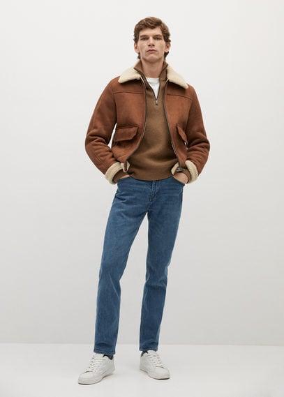 Авиаторская куртка-дубленка - Claude