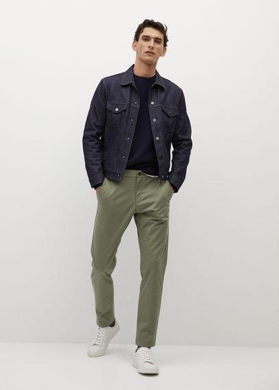 Укороченные брюки-чинос tapered - Prato