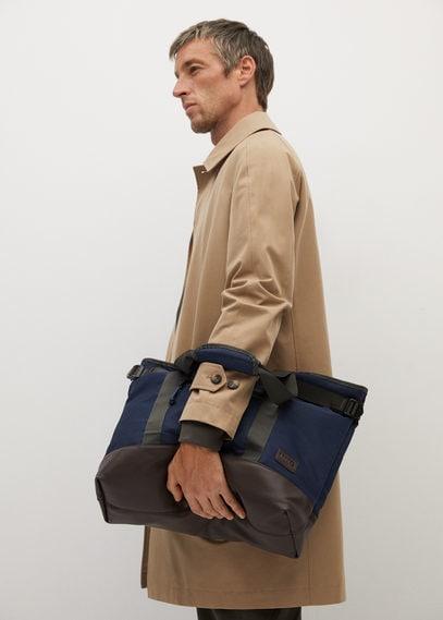 Холщовая сумка тоте с карманами - Valley