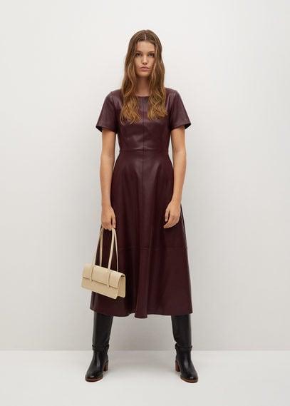 Платье из искусственной кожи - Frank