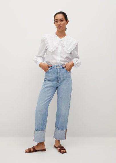 Рубашка с круглым воротником - Baby