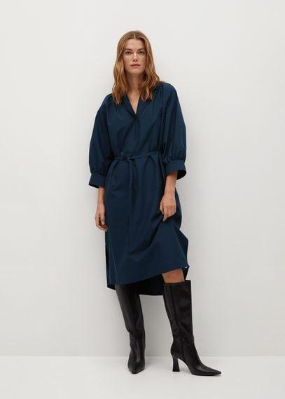 Платье с ремешком, хлопок - Prado-h